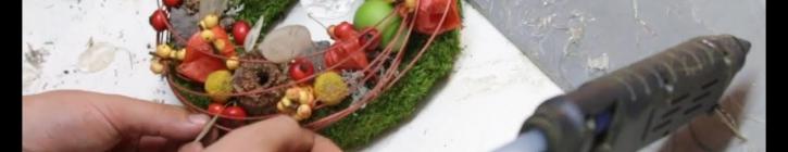 Embedded thumbnail for Ako si vyrobiť jesenný veniec #2